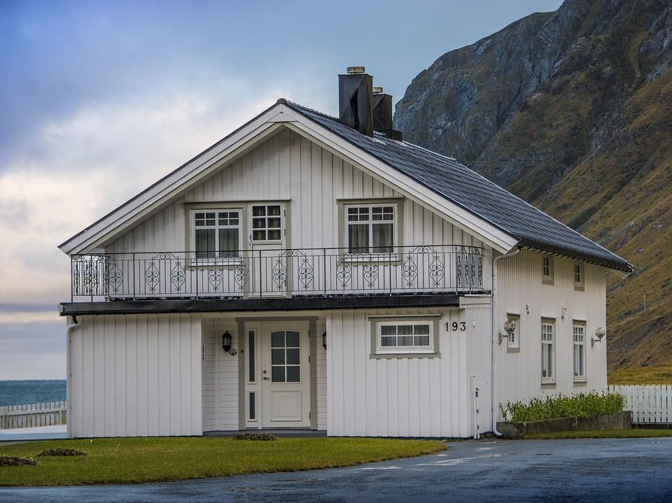 Dom pasywny z oknami drewnianymi