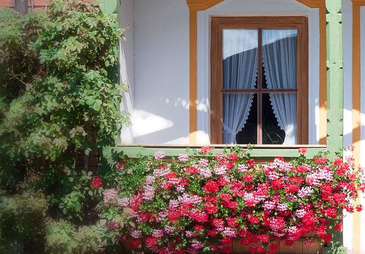 Cztery strony balkonu