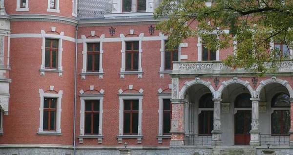 Castle near Wrocław